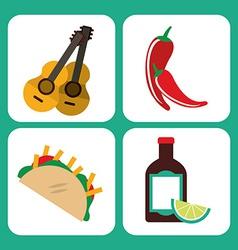 mexican culture vector image