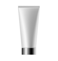 Realistic mock up of cream tube vector