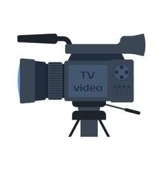 Video movie cinema amera vector image