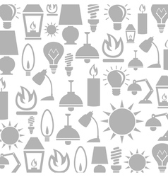 Light a background vector image
