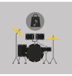 Website music design vector