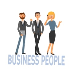 Business people set 3 vector