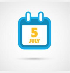 Calendar icon - date vector