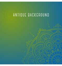 Mandala background for any use vector image vector image