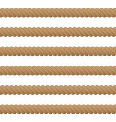 Rope seamless background vector
