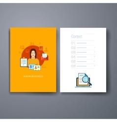 Modern cards design template vector