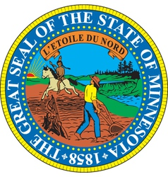 Minnesota seal vector