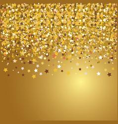 confetti explosion festival isolated vector image