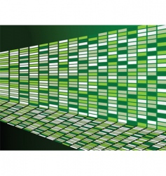 green wall background vector image