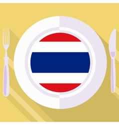 Kitchen of thailand vector
