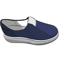 Sneaker Sport Running Shoe vector image vector image