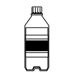 Soda bottle isolated icon vector