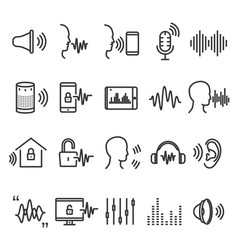 Speech recognition device vector