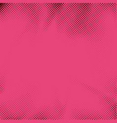 Retro style pink dotted pop art grain background vector