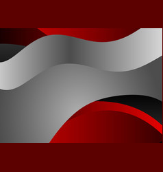 Gray and red abstract background vector
