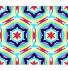 Kaleidoscope star pattern vector