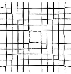 Abstract grunge squares seamless pattern vector