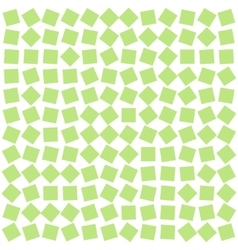 Abstract background from green squares vector