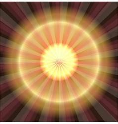 Abstract golden laser light background vector