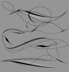 Pinstriping vector