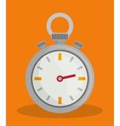 Timer clock design vector image