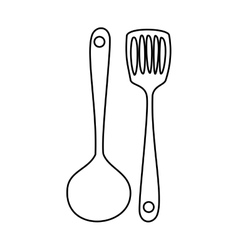 Kitchen related icon image vector