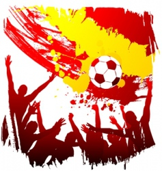 world cup Spain vector image