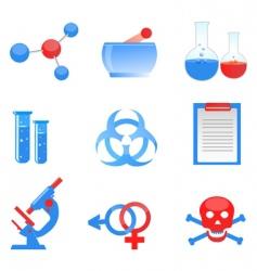 sceince symbols vector image