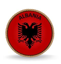 Albania Seal vector image vector image