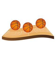 basketball championship vector image vector image