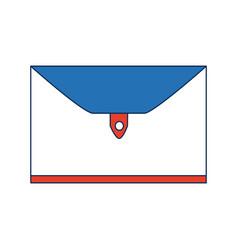 Business folder case closed accessory vector