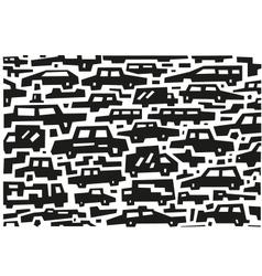 Cars doodles vector