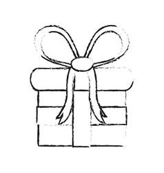 gift box icon image vector image