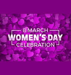 happy womens day vector image vector image