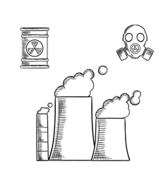 Pollution and destruction of environment vector