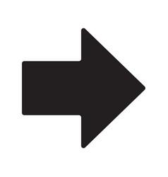 arrow icon eps10 vector image vector image