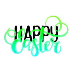 Happy easter religious christian spring vector