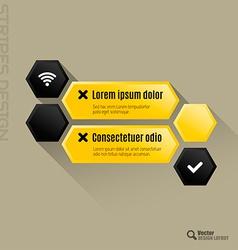 Hexagon interface vector
