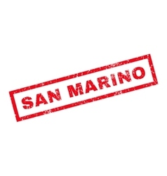 San marino rubber stamp vector