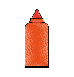 Sauce bottle icon image vector