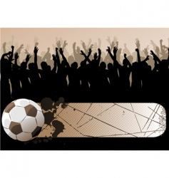 ball with frame vector image