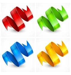 Color serpentine vector
