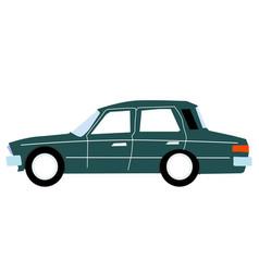 sedan vector image