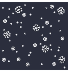 Winter empty background vector