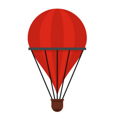 aerostat icon isolated vector image vector image