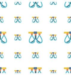 Belaying belt background vector image
