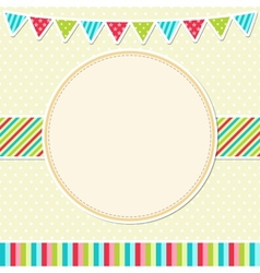 Bright frame vector image