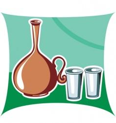 Clay pot vector