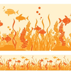 Hot fish vector