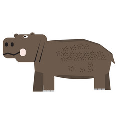 Isolated abstract hippo vector